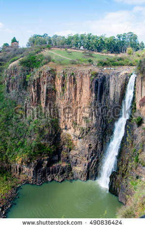 Africa South Waterfall Stock Photos, Royalty.