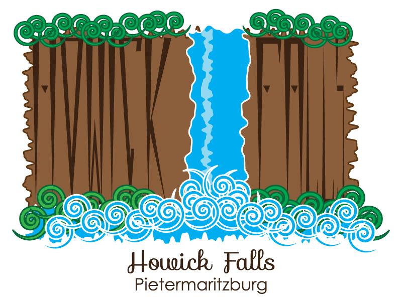 Briefbox Howick Falls Landmark Crest on Behance.