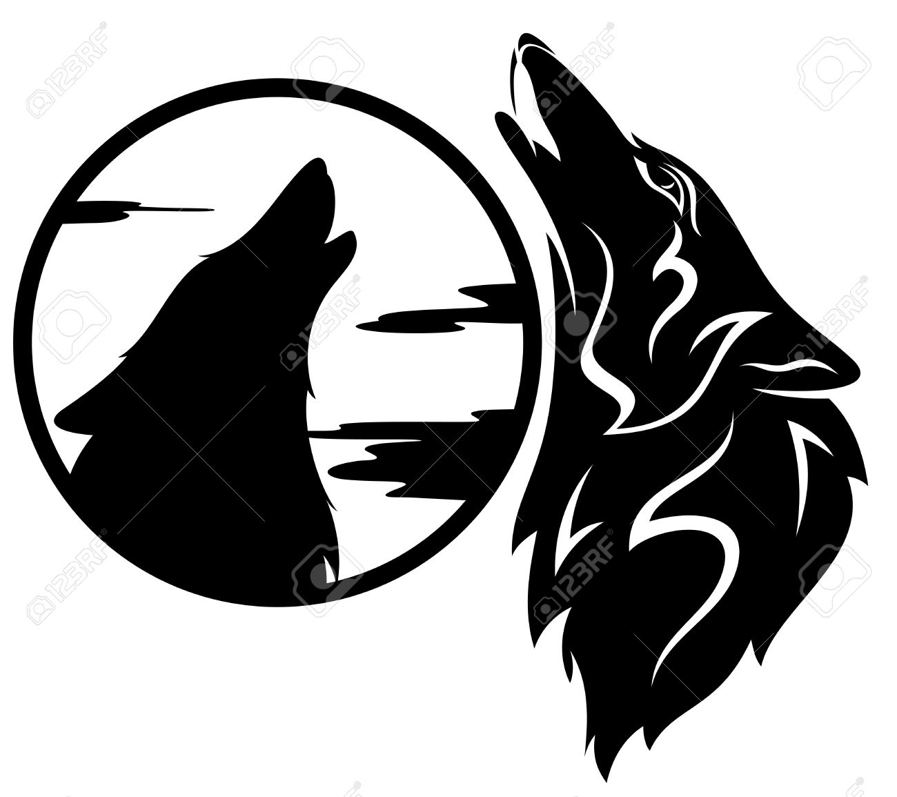 Howling Wolf Tribal.