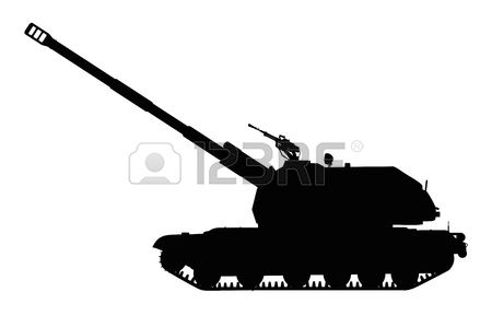 154 Howitzer Stock Vector Illustration And Royalty Free Howitzer.
