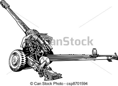 Howitzer Clipart and Stock Illustrations. 146 Howitzer vector EPS.