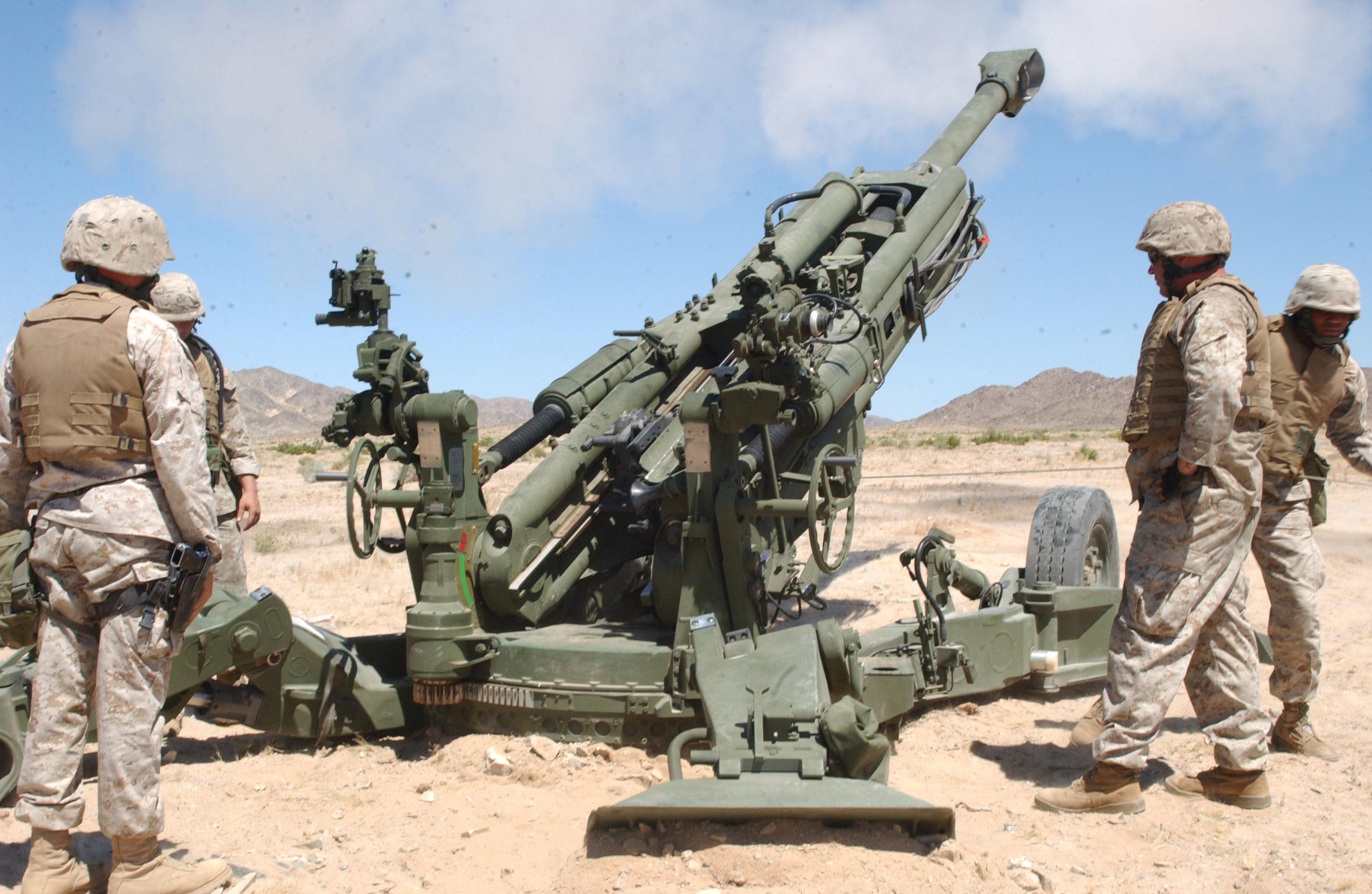 Howitzer M777.