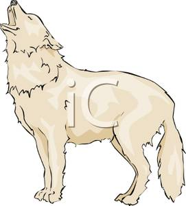 Wolf howl clipart.