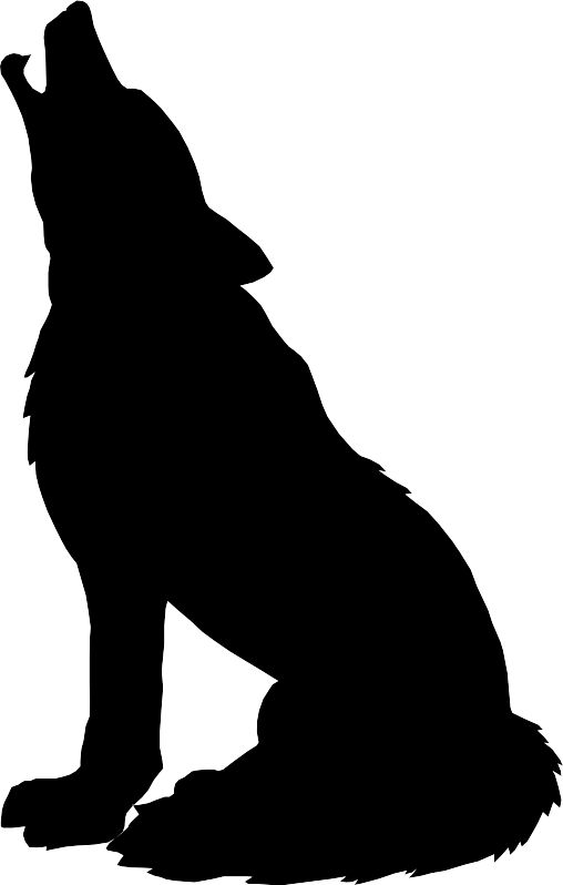 Howling Clipart.