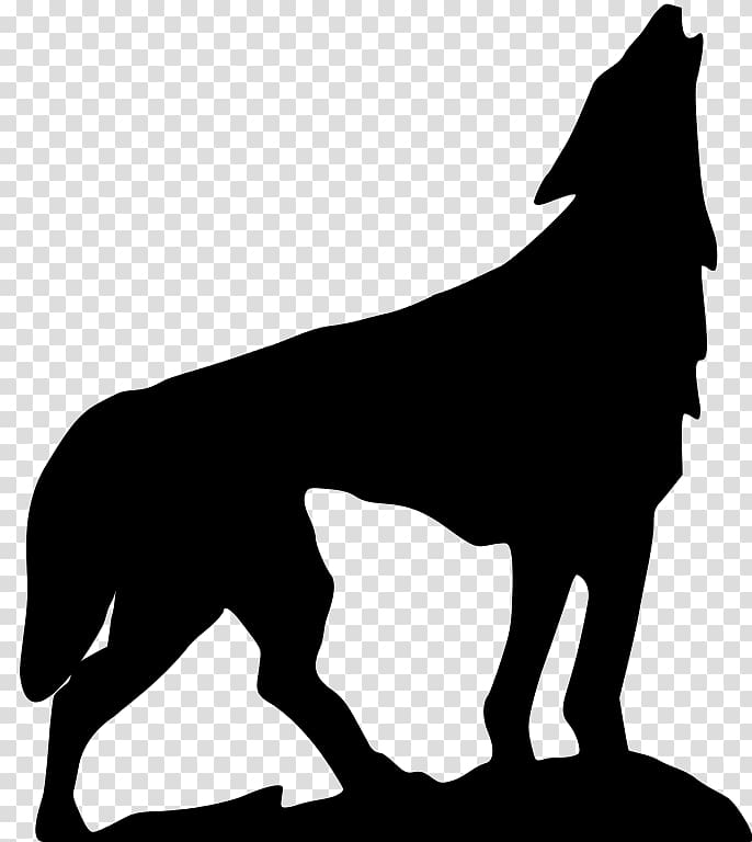 Dog , howling transparent background PNG clipart.