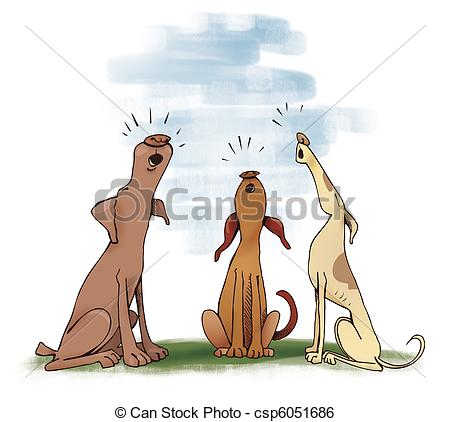 Howling Clipart and Stock Illustrations. 1,164 Howling vector EPS.