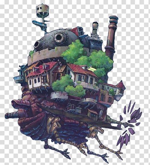 Ghibli Museum Studio Ghibli Film poster, Howls Moving Castle.