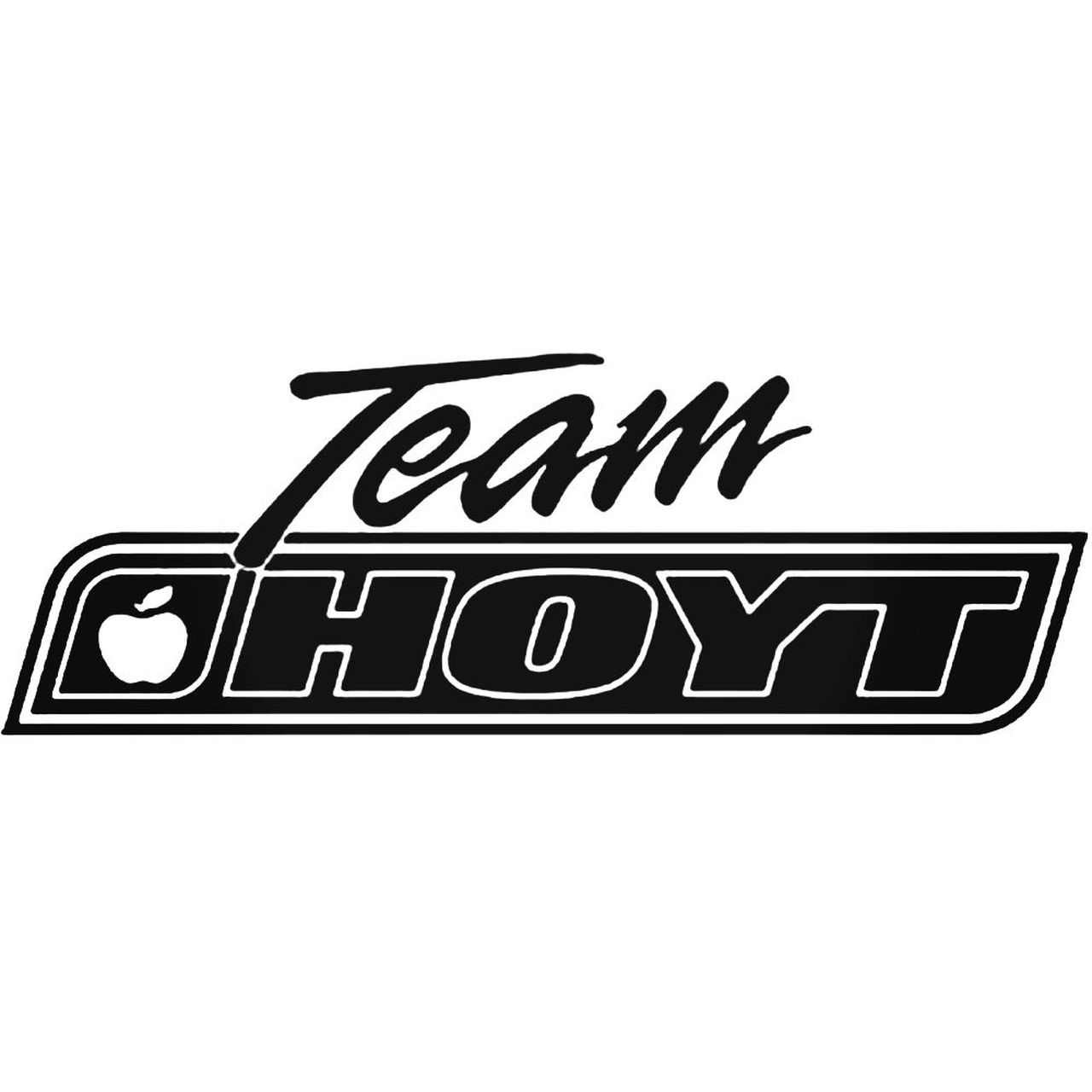 Team Hoyt Logo Decal.