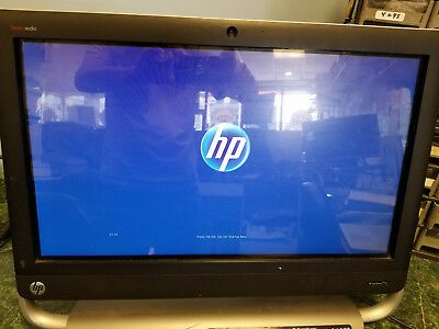 hp touchsmart 520 pc stuck on HP logo.