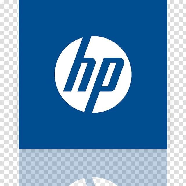 Metro UI Icon Set Icons, HP_mirror, white and blue HP logo.