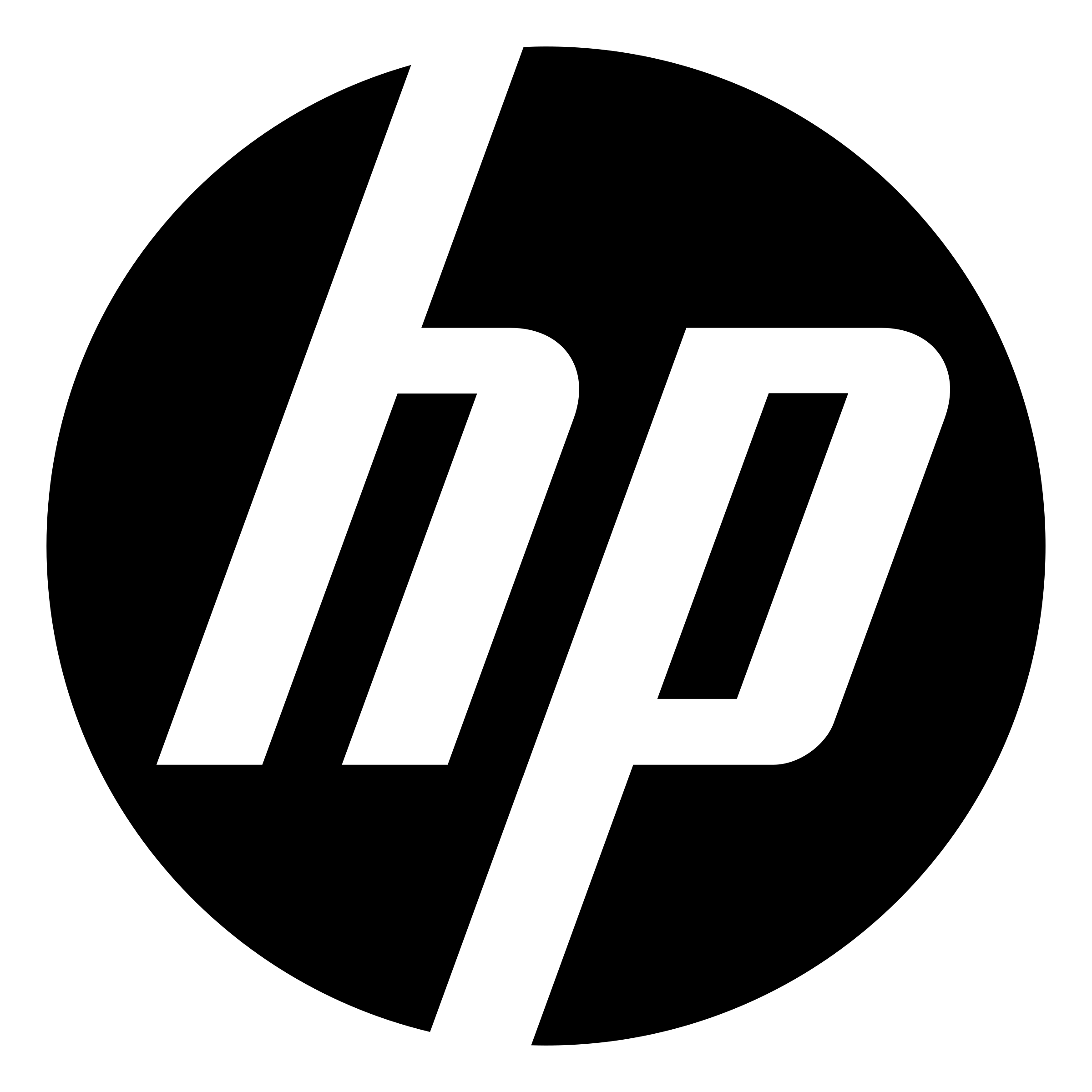 HP Logo PNG Transparent & SVG Vector.