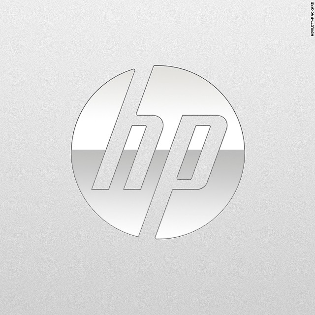 HP unveils a new logo: Can you see the \'h\' and the \'p\'?.