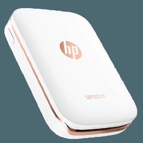 HP Sprocket Photo Printer White.