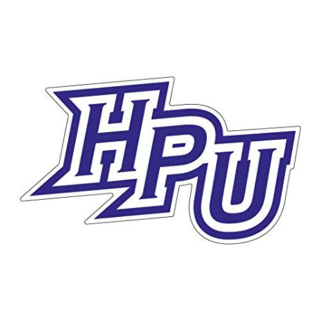 Amazon.com : High Point Large Decal \'HPU\' : Sports Fan.