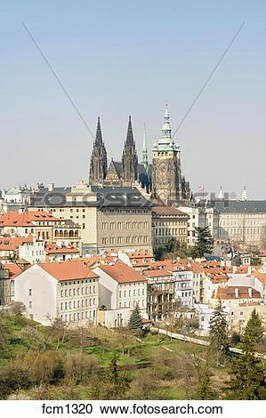 Stock Photography of CZECH REPUBLIC PRAGUE. HRADCANY CASTLE.