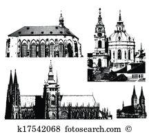 Hradcany Clip Art EPS Images. 7 hradcany clipart vector.