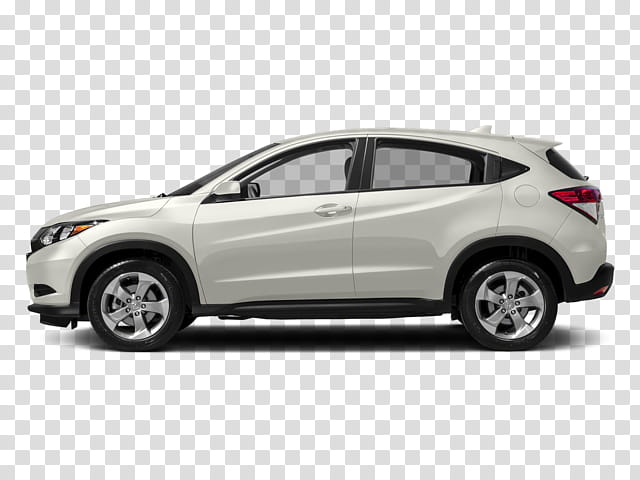 2018 Honda Hrv Lx transparent background PNG cliparts free.