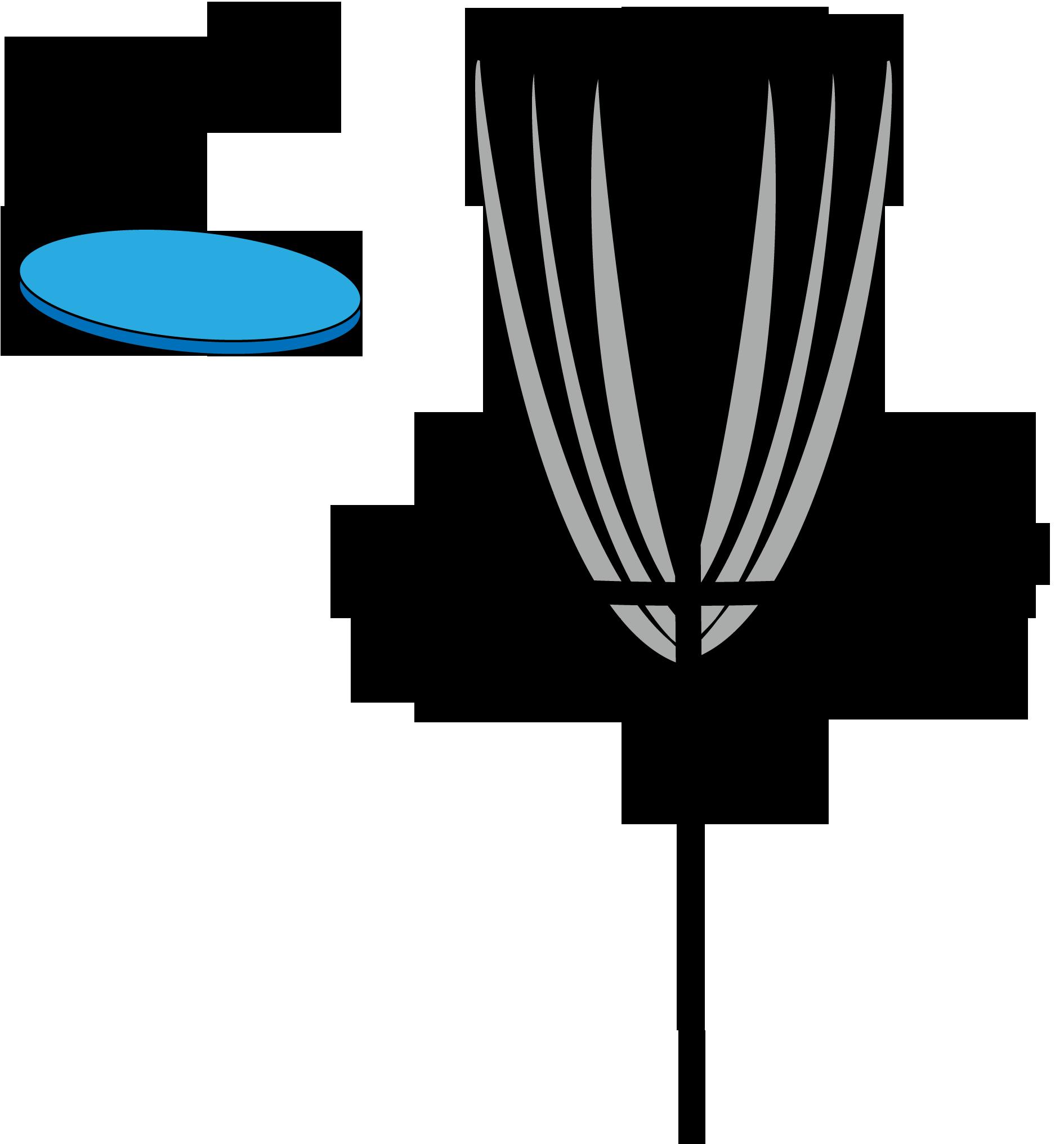 Frisbee Golf Clipart.
