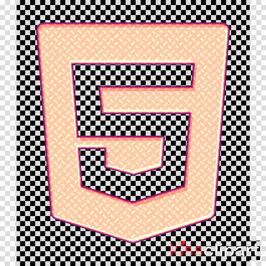 Logo icon Html 5 icon Social Media Logos icon clipart.