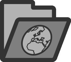 Web Folder Icon Clip Art at Clker.com.