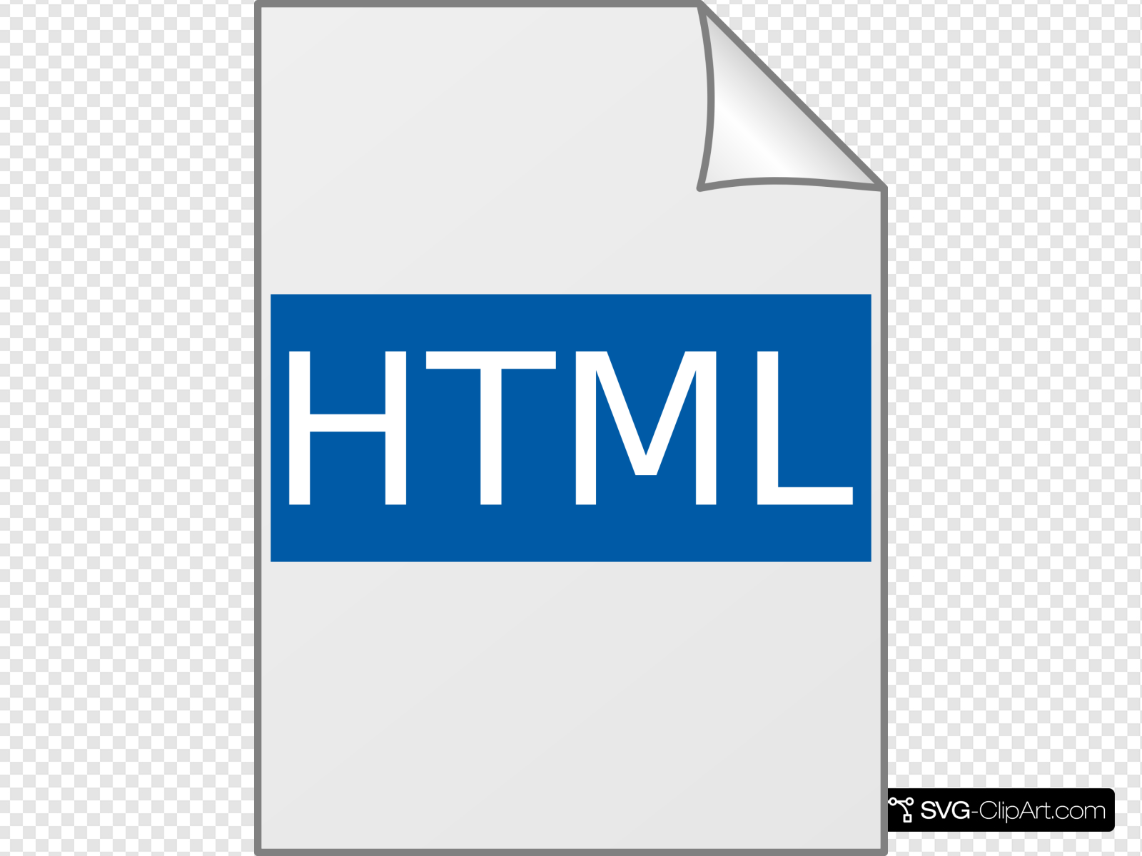 Html Icon Clip art, Icon and SVG.