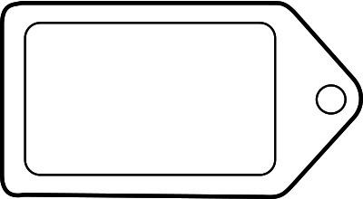 Similiar White Blank Tags Clip Art Keywords.