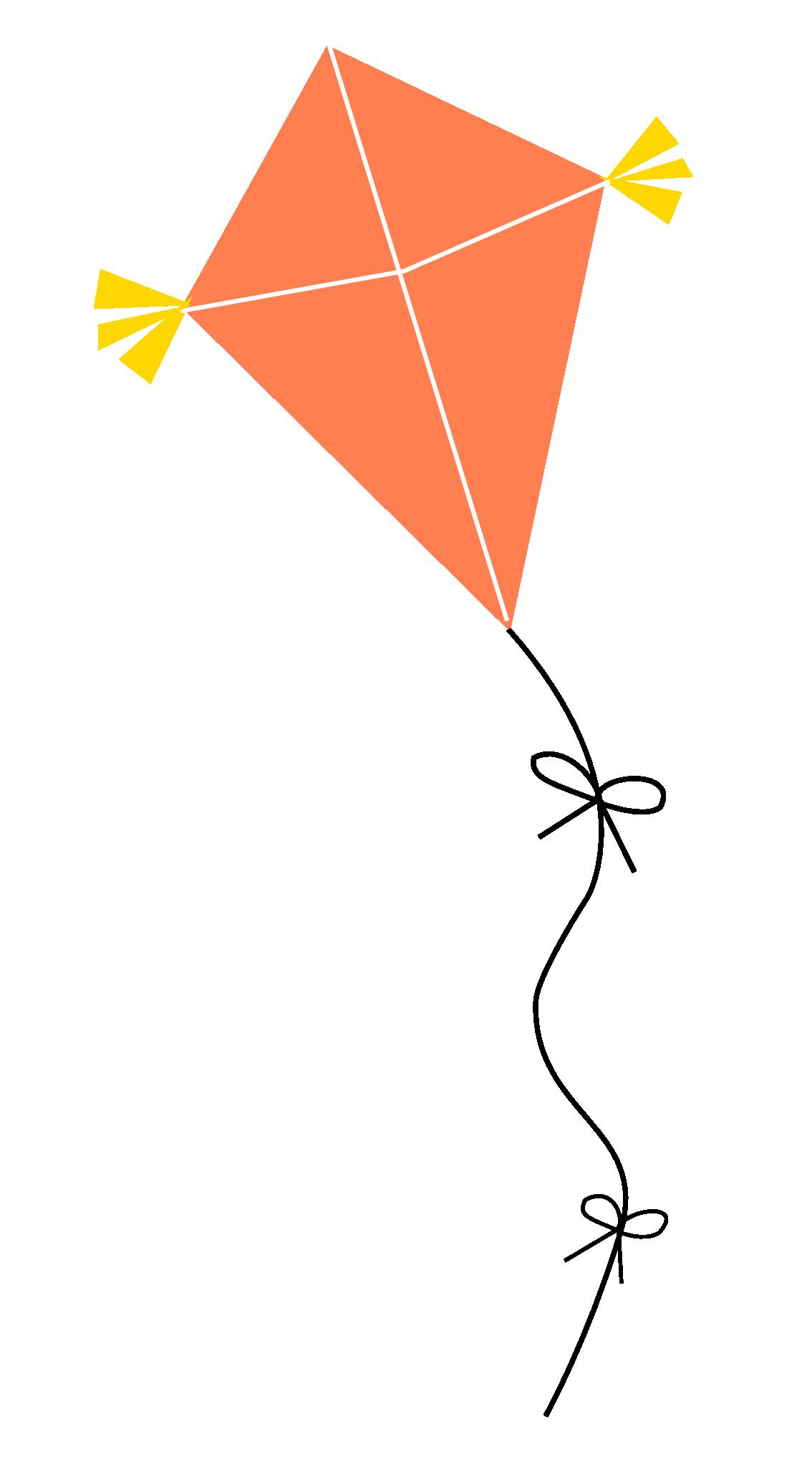 Clipart kite transparent background, Clipart kite.