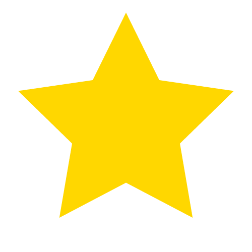Drawing stars with HTML5 Canvas.