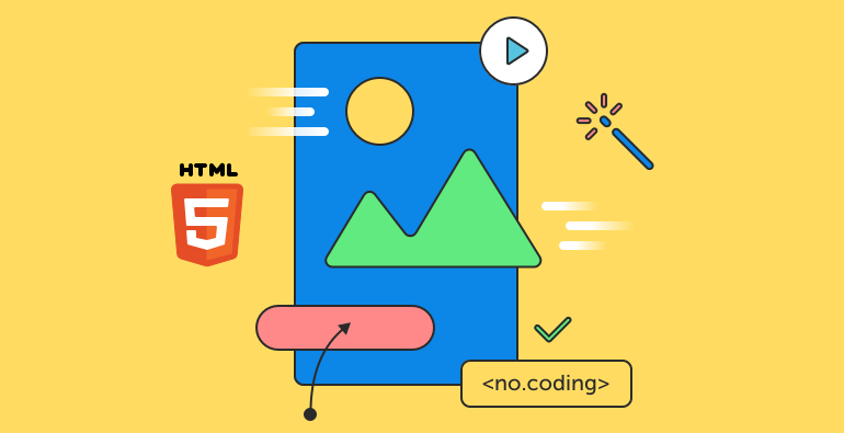 Create an HTML5 Animation Without Using Any Code.
