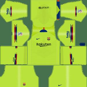 Pin on FC Barcelona Dream League Soccer Kit.