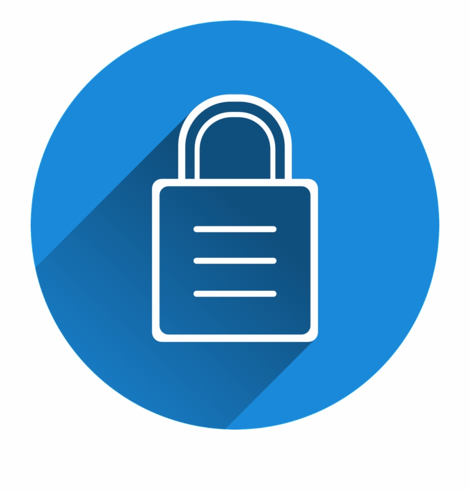 Http Lock Icon Blue Png.