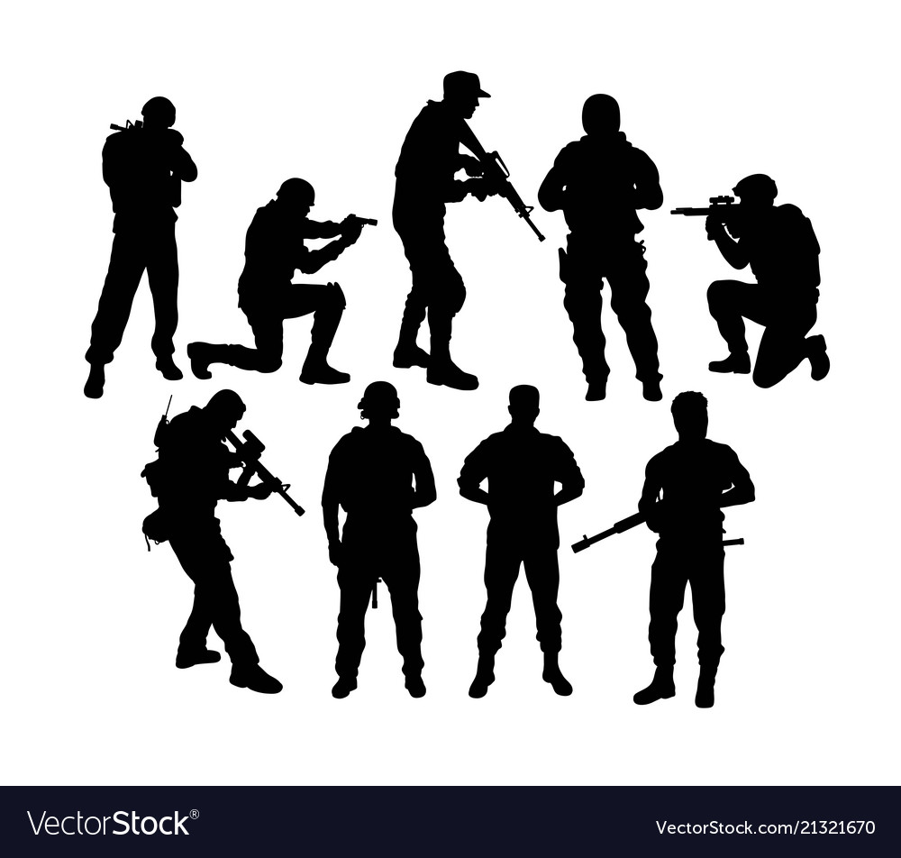 Army silhouette images clipart images gallery for free.
