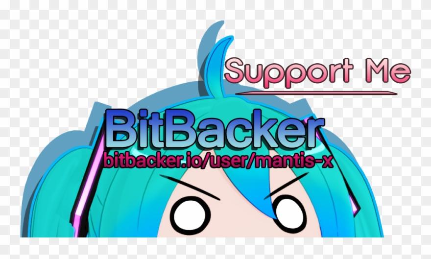 My Bitbacker Now Has Pledge Rewards Https Clipart (#3576503.