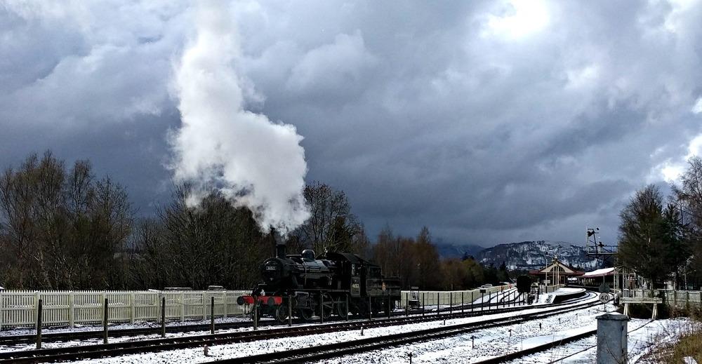 Strathspey Steam Railway, Scotland 2019.