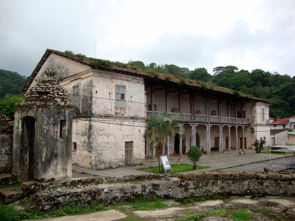 Real Aduana de Portobelo, Panama 2019.