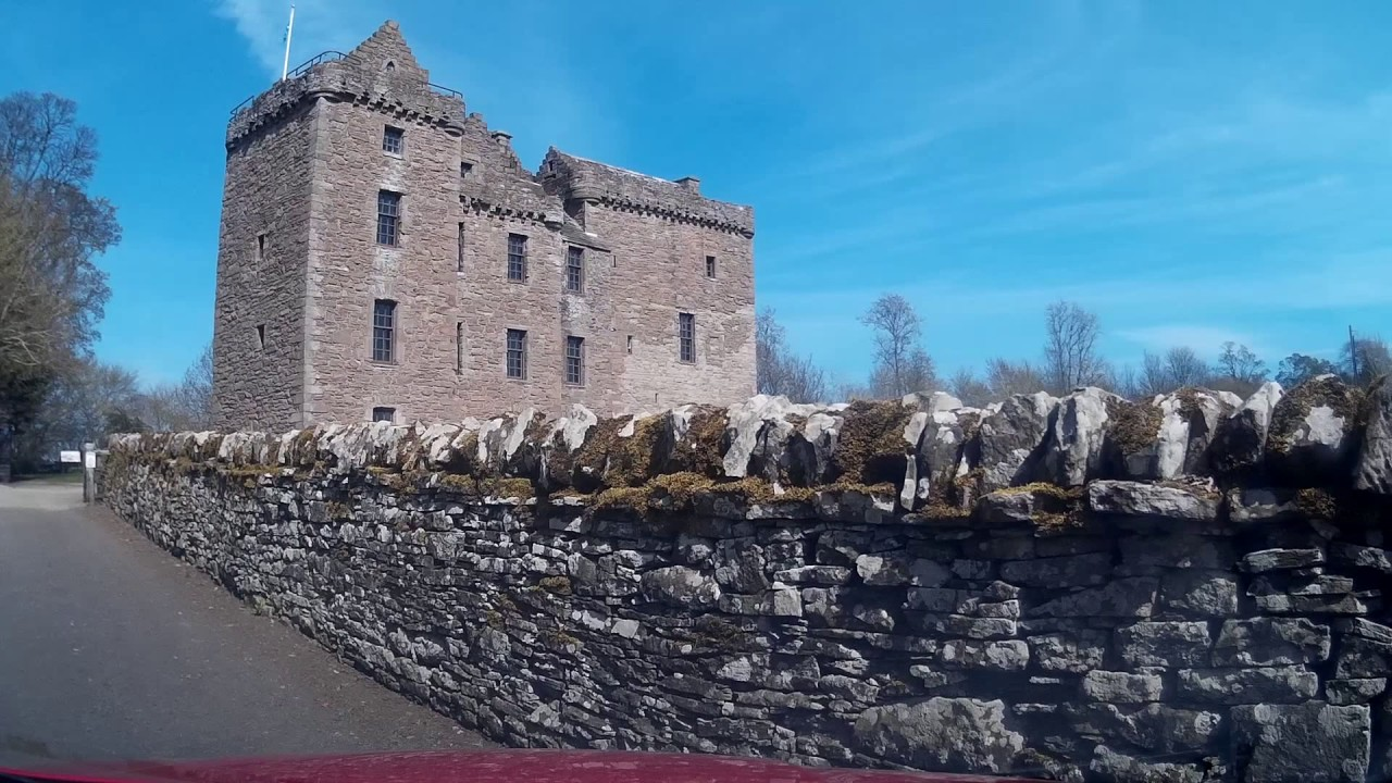 Huntingtower Castle, Scotland 2019.