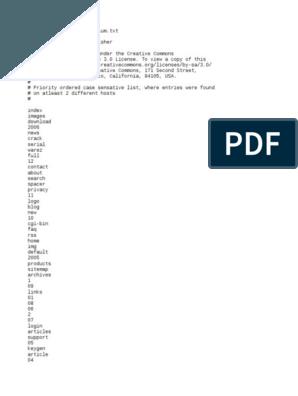 Directory List 2.3 Medium.