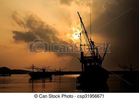 Picture of Hua Hin beach in Thailand csp31956671.