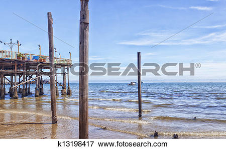 Picture of Hua Hin Pier k13198417.