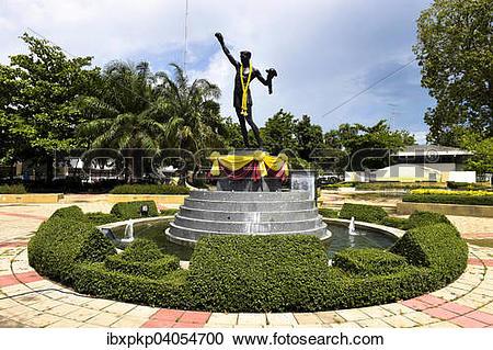 "Stock Photography of ""Statue of Pone Kingpeth, Hua Hin, Thailand."
