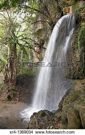 Stock Photo of Waterfalls, Around Huangguoshu, Huangguoshu.