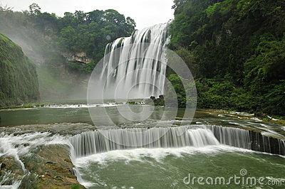 Huangguoshu Waterfall Royalty Free Stock Photos.
