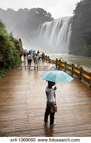 Stock Photography of Huangguoshu Waterfall, Huangguoshu, Guizhou.