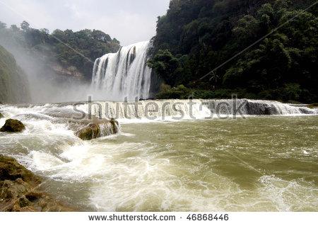 Huangguoshu Falls Stock Photos, Royalty.