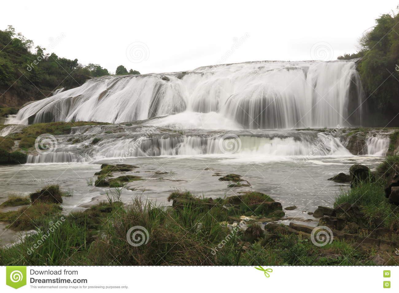Doupotang Waterfall In Huangguoshu Waterfall Scenic Area In.