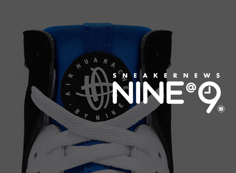 Sneaker News NINE@NINE: Nike Huarache Originals.