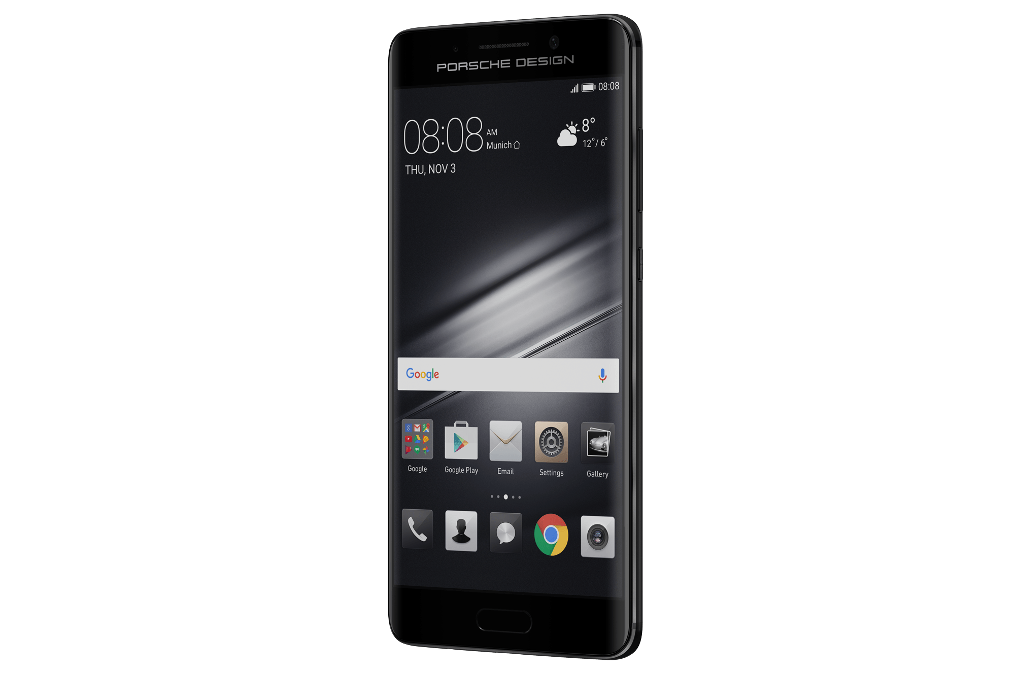 Huawei Mate 9 Porsche Design transparent PNG.