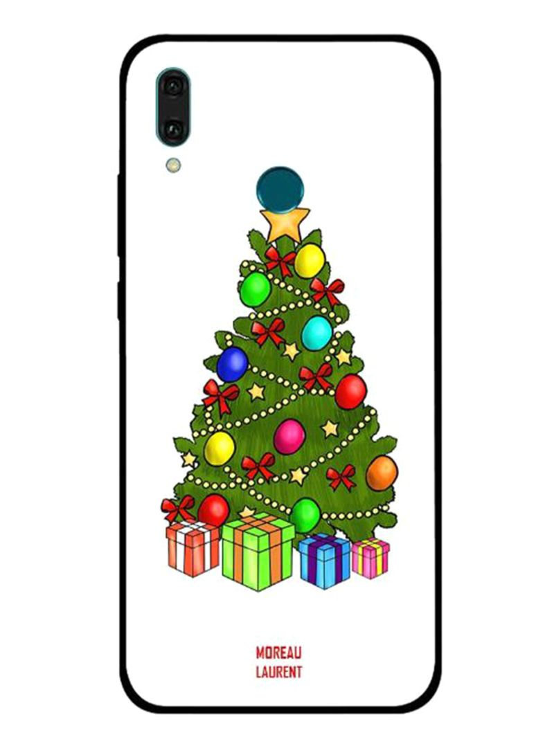 Shop Moreau Laurent Christmas Tree Clipart Printed Protective Case Cover  For Huawei Y9 2019 Multicolour online in Dubai, Abu Dhabi and all UAE.
