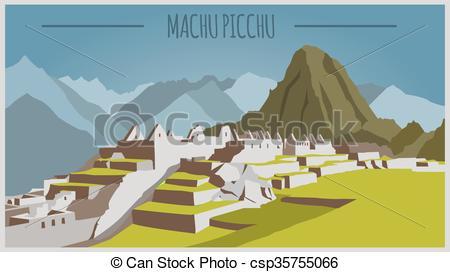 Machu picchu Clip Art and Stock Illustrations. 217 Machu picchu.