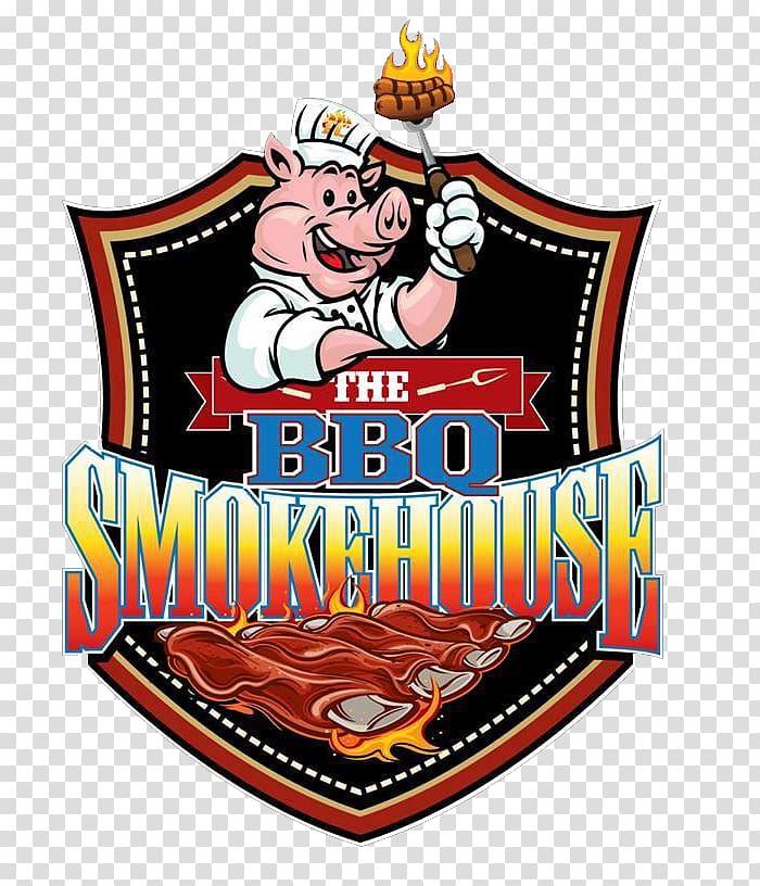 Ted & Gen\\\'s BBQ Steakhouse HUB 71 Restaurant Logo Food.